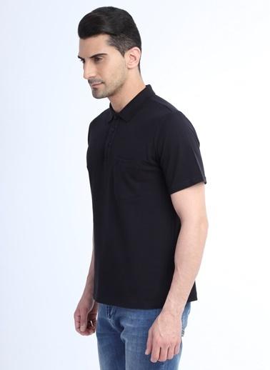 Kiğılı Tişört Siyah